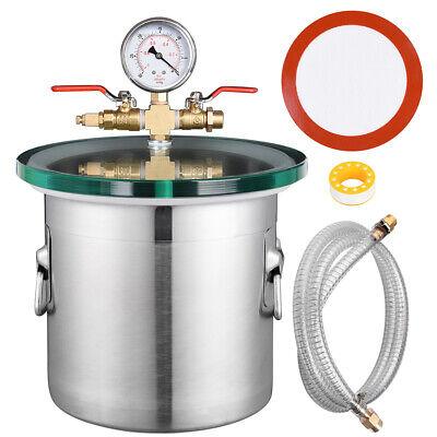 Usado, 2 Gallon Stainless Steel Vacuum Chamber kit to Degass Urethanes Silicones Epoxie segunda mano  Embacar hacia Argentina