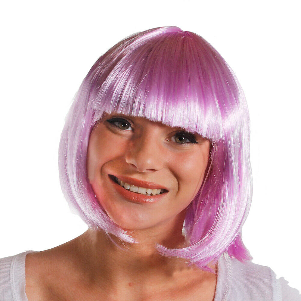 Womens Ladies Short Bob Wig Fancy Dress Cosplay Wigs POP Party Costume UK STOCK