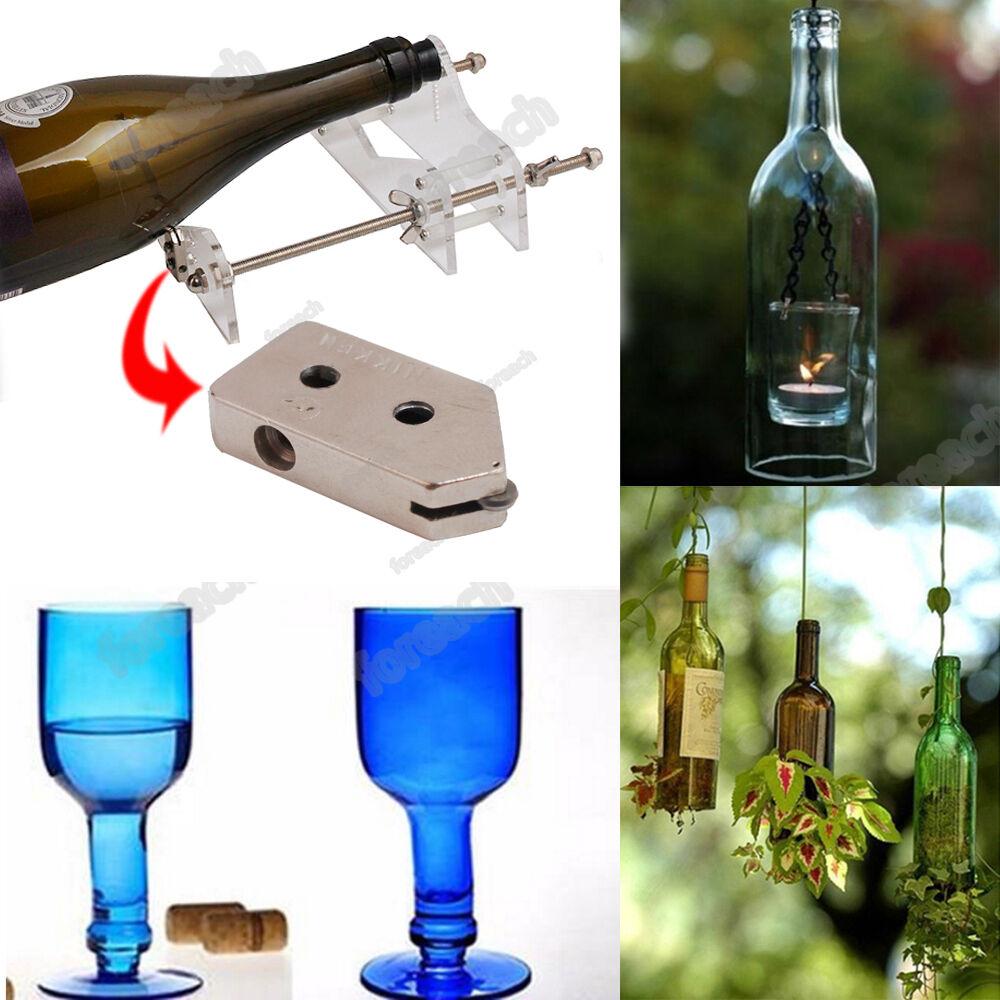 diy glass wine bottle cutter cutting machine jar craft. Black Bedroom Furniture Sets. Home Design Ideas