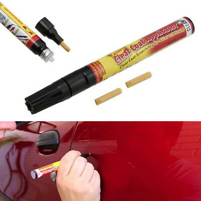 Fix It Pro Car Body Scratch Paint Repair Remover Pen Clear Coat Applicator B13U