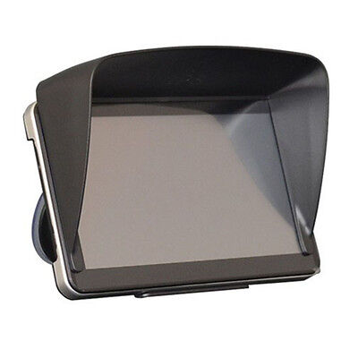 "Black New Fashion Sun Shade shield Glare Visor for Garmin 6.5"" GPS Navigator"