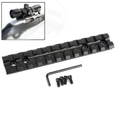 Scope Rail Base (For 10/22 Scope Mount Base Picatinny Rail Scope Mount Low Profile)