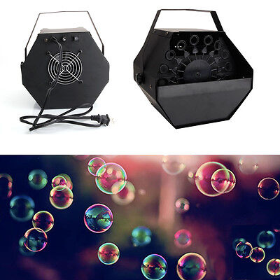 New Professional High Output Automatic Bubble Machine Make For DJ Party - Bubbles Machine