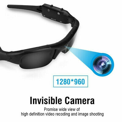 HD 1080p Hidden Spy Eyewear Camera Sunglasses Audio Video Recorder Camcorder DVR for sale  Shipping to Nigeria