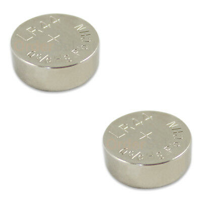 2 PACK NEW Battery Coin Cell Button Watch 303 357 A76 AG13 LR44 LR154 US Seller