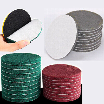 510x Tile Scouring Discs Pad Grout Power Scrubber Cleaning Sanding 4 5 6