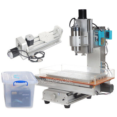 1500w 5 Axis 6040 Cnc Router Engraving Machine Table 110v220v Lcd W 1.5kw Vfd