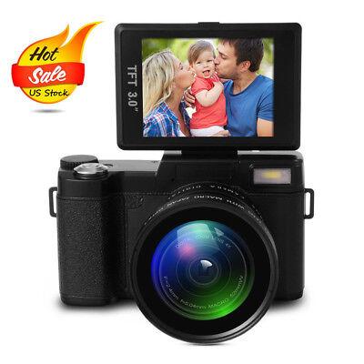 Digital Camera Full HD 1080P Professional Video Camcorder Vlogging Camera LF748