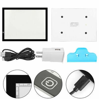 LED Tracing Light Box Board Art Tattoo A3 Drawing Thin Pad Table Stencil Display