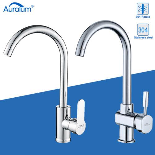DE Küchenarmatur Wasserhahn Spültischarmatur Einhandmischer Mischbatterie Küche