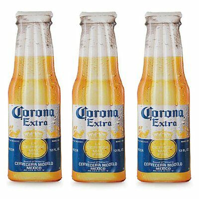 "Corona Inflatable Beer Bottle 68.5"" x 22"" Inflatable Pool Float Mat (3 Pack)"