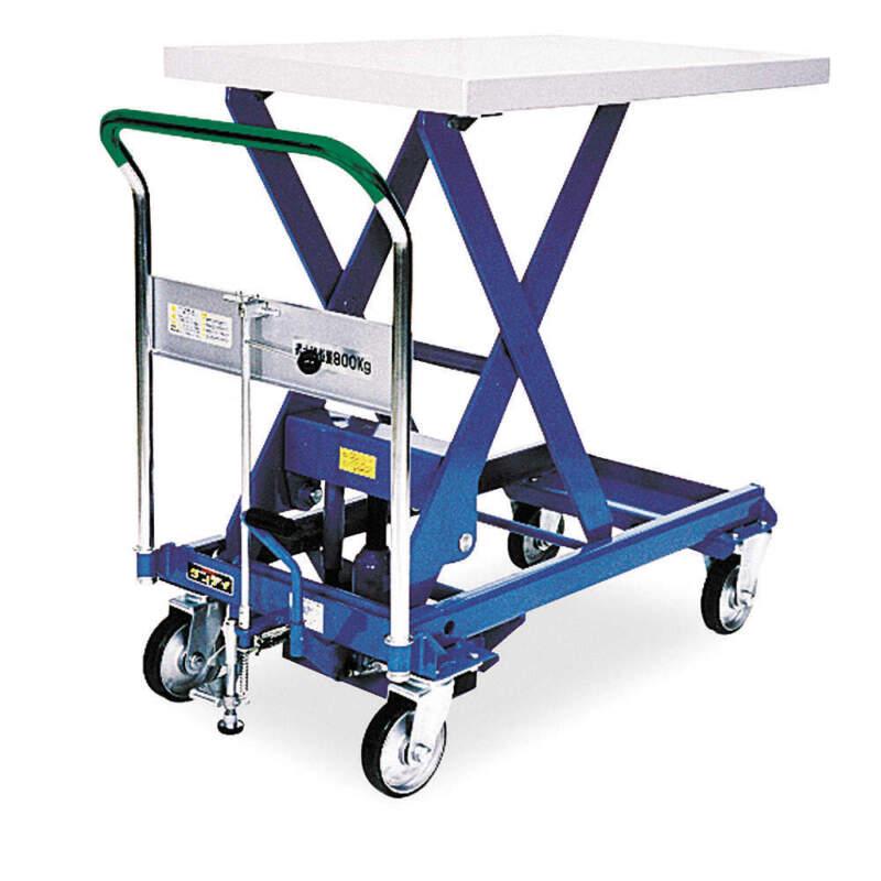 SOUTHWORTH Scissor Lift Cart,1760 lb.,Steel,Fixed, A-800
