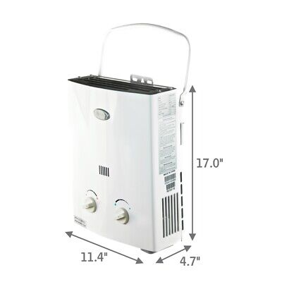 Marey GA5PORT Best Portable Propane Tankless Water Heater Refurbished US