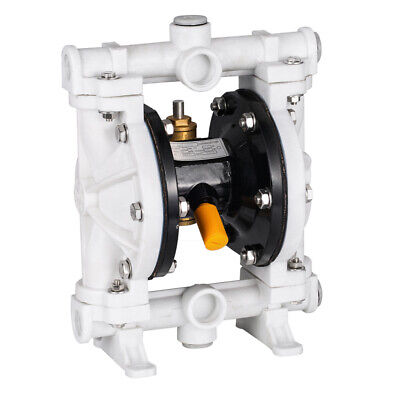 12 Polypropylene Air-operated Double Diaphragm Pump 13 Gpm 100psi 12 Npt