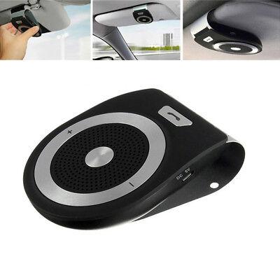Wireless Bluetooth Car Visor Clip Speakerphone Auto Kit Speaker MP3 Music Player
