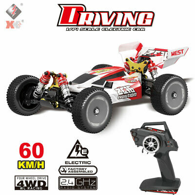 Wltoys XKS 144001 1/14 2.4GHz 4WD RC Auto 60 km/h High Speed Geländewagen Buggy