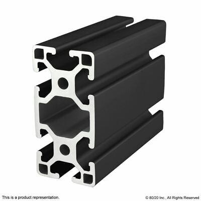 8020-40 Series-4080-lite-black Aluminum Extrusion Profile