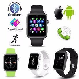 bluetooth smart watch simcard HD screen iphone/android