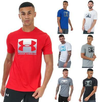 Mens Under Armour Boxed Sportstyle Short Sleeve T-Shirt