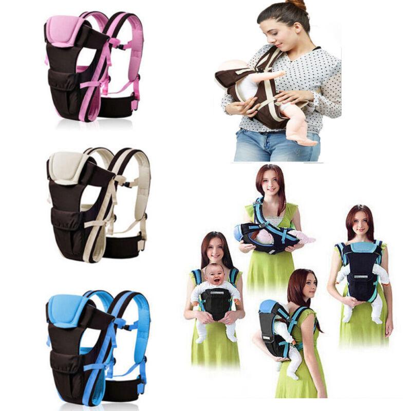 Baby KindertrageTragetasche Bauchtrage Babytragetuch Tragegurt 4 Tragpositionen