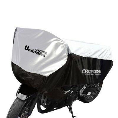 Oxford Umbratex Motorcycle Half-Cover XL CV108 for large touring and (Half Cover Motorcycle Covers)