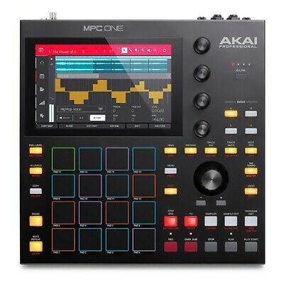 "PRE-ORDER Akai Professional MPC ONE Standalone Sampler and Sequencer, 7"" Display"