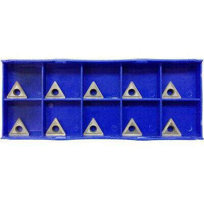 10 Pc 38 Inserts C6 Carbide Tip For Turning Tool Bit Tcmt 2151 Chipbreaker
