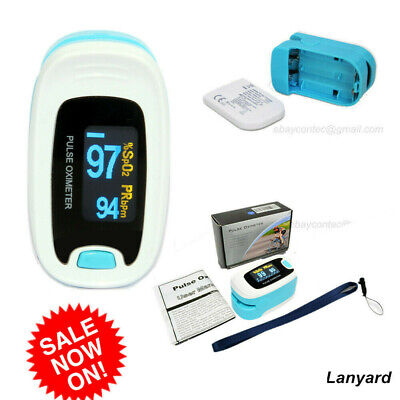 Finger Tip Pulse Oximeter Spo2 Heart Rate Monitor Blood Oxygen Meter Sensor New