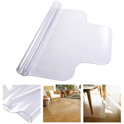 "48"" x 36"" PVC Floor Mat Protector for Hard Wood Home Office Desk Rolling Chair"