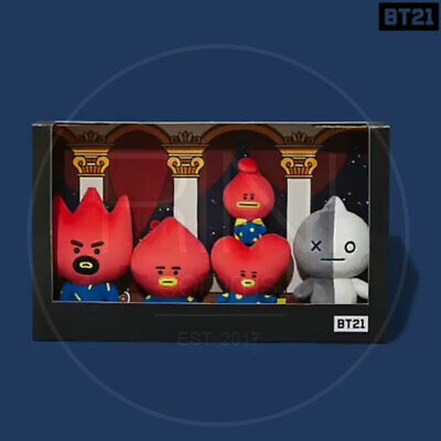 BTS BT21 Official Authentic Goods TATA Doll SET Universe Ver  + Tracking Number