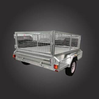 7x5 Galvanised Box Trailer Campbellfield Hume Area Preview