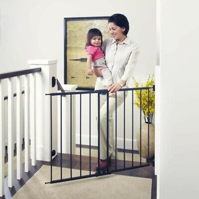"Toddleroo by North States 47.85"" Wide Easy Swing & Lock Baby Gate 31"" Tall Bronz"