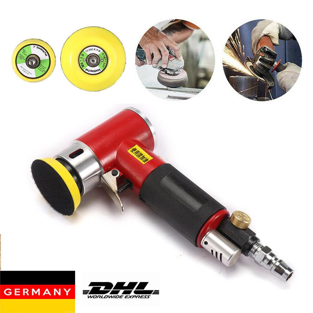 Mini Druckluft Exzenterschleifer, Poliermaschine 50mm / 75mm Excenterschleifer