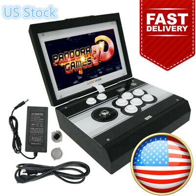 "Portable Foldable Pandora's Box 3D 2448in1 Arcade Game Retro Console 10"" Screen"