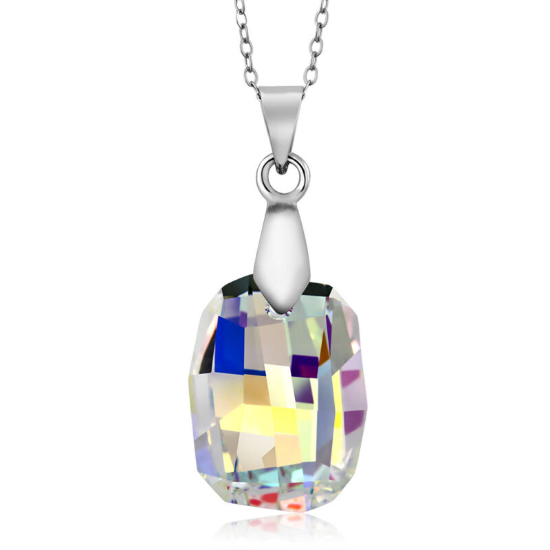Nirano Collection Aurora Borealis Pendant Created with Swarovski® Crystals