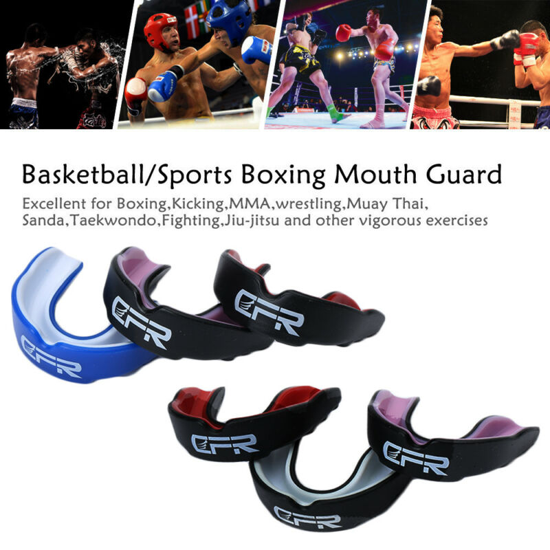 Mouth Guard Sports Gum Shield Basketball MMA Boxing Adult Youth Teeth Braces CFR