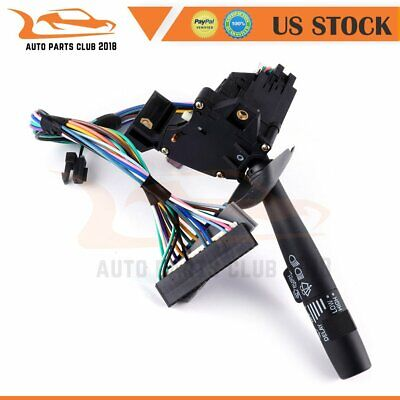 Turn Signal Windshield Wiper Lever Blinker Switch for 1995-98 Chevy K1500 Truck Chevy 1500 Truck Windshield