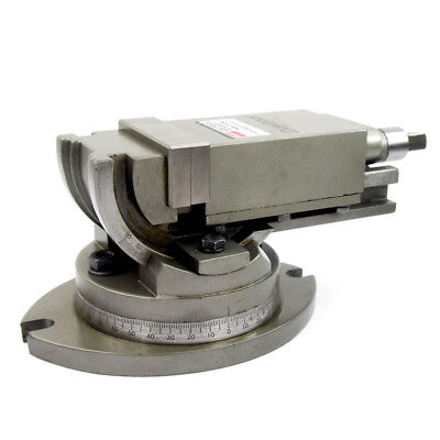 3 Inch 2-way Angular Tilting Machine Vise With 360 Swivel Base