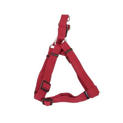 Coastal New Earth Soy Comfort Wrap Adjustable Dog Harness Cranberry 1X26-38in