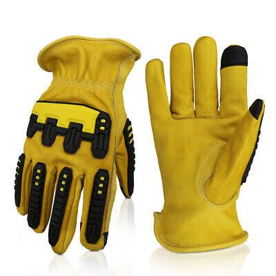 G-tuf Total Protection Water Cut Impact Resistant Top Grain Cowhide Gloves