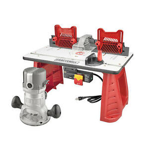Craftsman router table ebay craftsman 95 amp router table combo 1 34 hp power shaper miter gauge keyboard keysfo Image collections