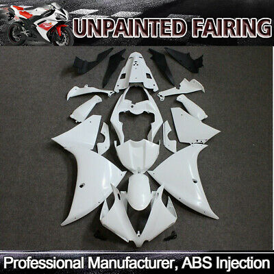 For Yamaha YZF R1 YZF-R1 2012-2014 13 Unpainted Injection Fairing Kit Bodywork  for sale  Shipping to Canada