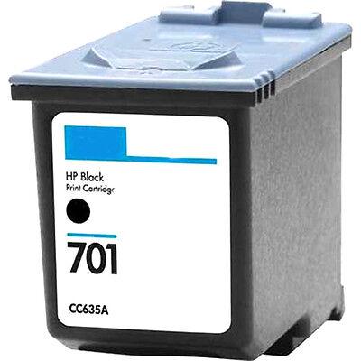 HP 701 Black Ink Cartridge CC635A HP701 for Fax (640 Fax)
