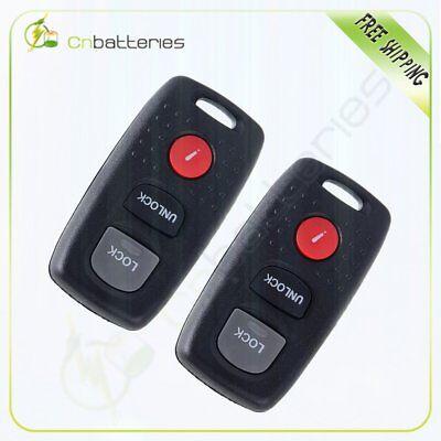 2pc  Replacement for 2004-2005 Mazda  6 KPU41846 41846-B Remote Car Keyless Key