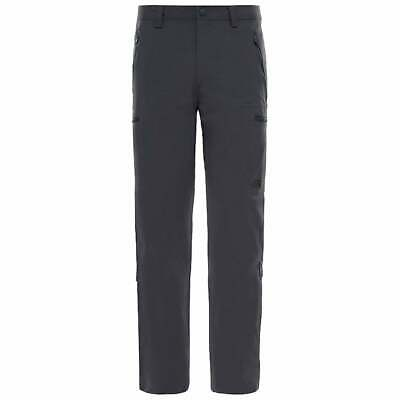 The North Face Mens Exploration Pant Trouser Stretch Grey 36S 38 BNWT