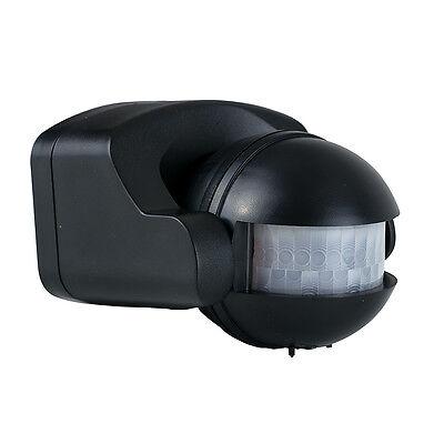 Fully Adjustable Outdoor IP44 Infrared PIR Motion Sensor Detector Light Lighting