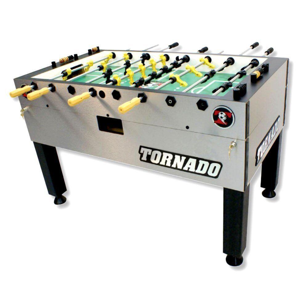 Tornado T-3000 Foosball Game Table - 3 Man Goalie