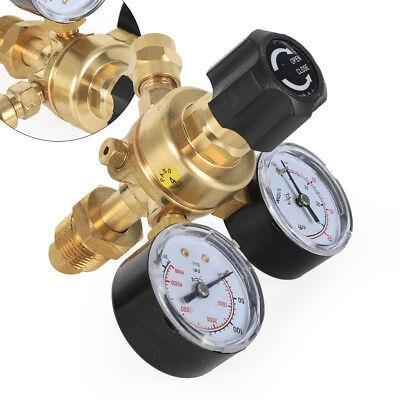 Cga580 Mig Tig Flow Meter Regulator Argon Welding Regulator Gauge Gas Welder Co2