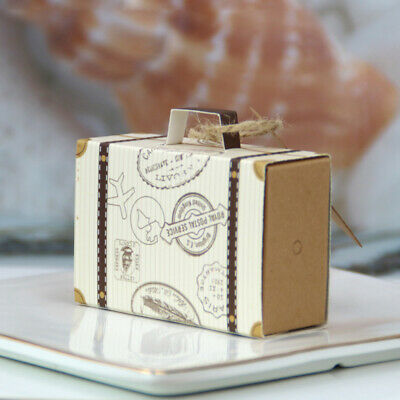 Dulces Fiesta Cajas Caja Candy Chocolate Caja Detalle Kraft Papel Aniversario