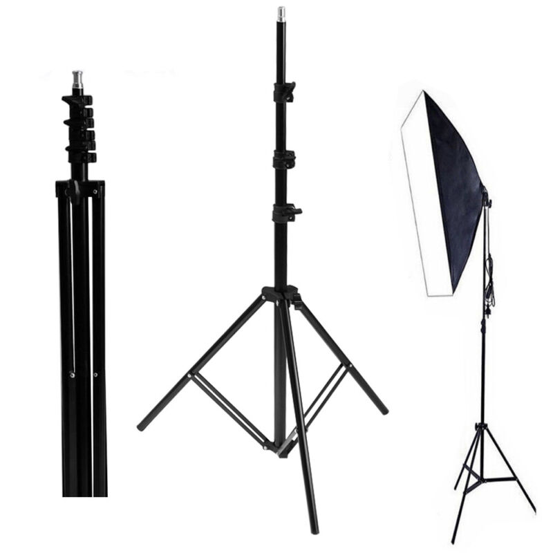 8ft Photography Studio Light Tripod Holder Flash Softbox Umbrella Support Stand